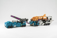 DSC07610 (KayOne73) Tags: sony a7rii nikkor nikon 40mm micro macro lens transformers iron factory legends class 3rd party figures tf combaticons bruticus war giant combiner dx
