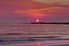 Sunrise over Cooee. (taszee63) Tags: tasmania sunrise cooee point beach water waves sun hdr 3xp red