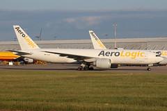 AeroLogic Boeing 777-FZN D-AALB EMA 12/06/18 (bhxflights) Tags: aerologic boeing777 cargo freighter ema eastmidlands airport eastmidlandsairport egnx