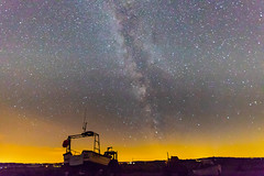 My First go at the Milky Way (andybam1955) Tags: milkyway landscape cleynextthesea coastal sky northnorfolk boats norfolk rural