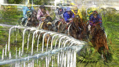 Hipodromo - copa de oro - Donostia (Antonio-González) Tags: hipodromo donostia sansebastian caballos carrera horses race racecourse