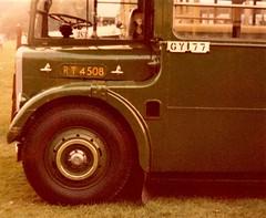 London transport Green Line RT4508 Horsham 1981. (Ledlon89) Tags: bus buses london transport lt lte londontransport londonbus londonbuses vintagebuses aec