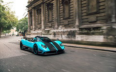 Hitting London's Streets (Alex Penfold) Tags: pagani zonda uno supercars supercar cars london autos alex penfold 2018 turquoise blue teal