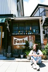 street (ChCh Chen) Tags: travel tokyo 佐原 千葉 street film fujifilm nikon girl japan