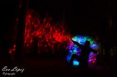 EXPECTO PATRONUM...!!! (E.M.López) Tags: 2018 junio verano castillodelocubín jaén andalucía españa lightpainting largaexposición noche nocturna luz iluminación leds figura efectos effects