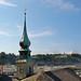 Salzburg - Altstadt (21) - Blick von der Kapuzinerkirche Richtung Mönchsberg
