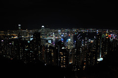 DSC_0125 (giuseppe.cat75) Tags: hong kong skyscrapers night lights landscape asia