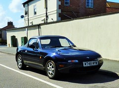 Mazda Roadster (grassrootsgroundswell) Tags: mazda mazdaroadster classiccar classicjapanesecar