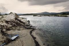 Sardegna 2050 (nicolamarongiu) Tags: ambient landscapes paesaggio sea mare sardegna italy resti ponte fiume sunset portopino colori natura concept