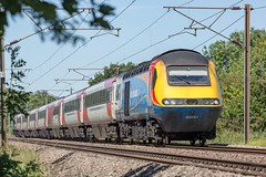 43061 Markham.22.6.18 (deltic17) Tags: virgineastcoast vtec emt eastcoast eastcoastmainline eastmidlandstrains train express trains hirein sun colours hst 125 intercity125 paxman canon