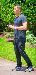 Man in  Black Jeans (LarryJay99 ) Tags: washedashore mountsbotanicalgardens litter trash refuse plastics art arts artcraft guys dudes males people man men guy dude male studly manly handsome hunk stud gaze masculine sexyman asian