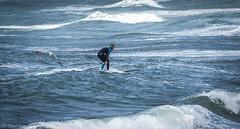 Surfer... She (Carl Terlak) Tags: sea sony waves surfing