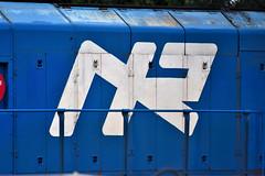 Northern Ireland Railways Logo c.1980s (nathanlawrence785) Tags: nir translink ballymena permanent way yard depot logo 111 class diesel 8111 8113 112 windhoff mpv