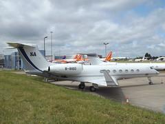 B-8160 Gulfstream G550 Private (Aircaft @ Gloucestershire Airport By James) Tags: luton airport b8160 gulfstream g550 private bizjet eggw james lloyds