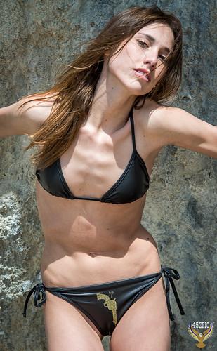 Athletic bikini models