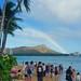 Rainbow over Diamond Head.