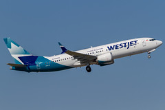 VEGAS TO THE MAX (Wee in YYC) Tags: cfnwd b38m 7378 max boeing westjet cyyc yyc