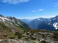Cascade Pass Trail at North Cascades NP in WA (Landscapes in The West) Tags: cascadepass sahalearm trail hike northcascadesnationalpark washington landscape pacificnorthwest