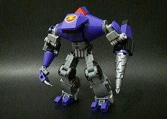 """Violet"" (dwihtmt) Tags: dwihatmanto dwi dwihtmt dwilego lego legomech legomoc legomechframe legocustom legogundam legorobot legopacificrim legocreativity mech mecha robot technology tech"