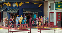 Chinatown (1938), v06,  Los Angeles, CA, USA (lumierefl) Tags: losangeles losangelescounty california ca usa unitedstates farwest pacificcoast northamerica architecture building commercial retail shop tore mall shopping storefront chinese china asian mannequin dress clothing display