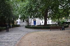 DSC_6467 St Marylebone Parish Church Yard London. The grass needs a little water to make it green again (photographer695) Tags: marylebone london st parish church yard the grass needs little water make it green again