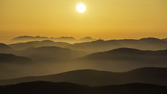 Scotland's Mountains layer to the Cuillin (Scotland's Mountains) Tags: cuillin ridge scotlands mountains mountain scotland heaven youtube sunset layers