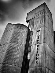 The Cornerstone (Joseph Pearson Images) Tags: flickrfriday building thecornerstone brutalism brutalist blackandwhite mono bw