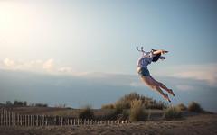 (dimitryroulland) Tags: nikon d600 performer art dimitryroulland 85mm 18 france south air sun sunset beach gym gymnast gymnastics pointe dance dancer sky