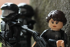 ONI (lego slayer) Tags: halo lego oni odst legos