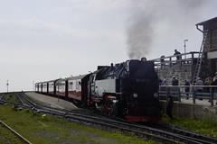 HSB 99 7247-2 bij aankomst op het eindpunt station Brocken 07-06-2018 (marcelwijers) Tags: hsb 99 72472 bij aankomst op het eindpunt station brocken 07062018 bahnhof