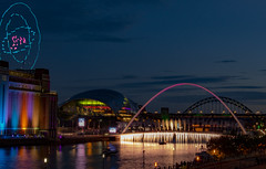 Great Exhibition of the North - Drone Display - Newcastle upon Tyne (Dan Tuff) Tags: great exhibition north drone display newcastle upon tyne