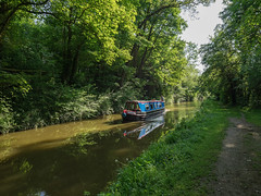 Oxford Canal (Bruce Clarke) Tags: narrowboat olympus m43 oxfordshire 714mmf28 towpath tackley waterway landscape omdem1 outdoor trees water oxfordcanal