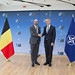 The Prime Minister of Belgium visits NATO
