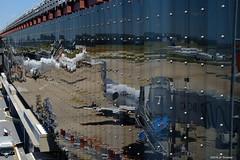Orly (jpto_55) Tags: reflet avion aeroport orly france xe1 fuji fujifilm fujixf1855mmf284r