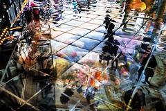 8-101 (roberke) Tags: photomontage photoshop layers lagen textures textuur creation creative creatief surreal fantasy people mensen reflections reflecties kleuren