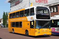 Scania Omnidekka East Lancs (DennisDartSLF) Tags: norwich bus scania omnidekka eastlancs 119 sanderscoaches yn06jwp