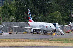 6991 1B112 44453 N323RM 737-8 American Airlines (737 MAX Production) Tags: b737 boeing737max boeing boeing737 boeing7378 boeing7378max 69911b11244453n323rm7378americanairlines