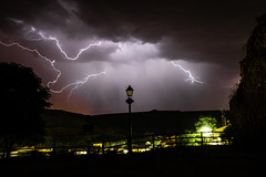 Tormenta en Quintanilla San García (Burgos) (jesus.calle) Tags: tormenta rayo burgos quintanillasangarcía