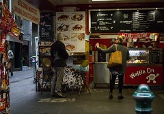 Waffle Choices (RP Major) Tags: street waffle cafe women people food shopping melbourne victoria degraves