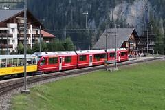 RhB Station Litzirüti (Kecko) Tags: 2018 kecko swiss switzerland schweiz suisse svizzera graubünden graubuenden gr arosa litzirüti europe railway railroad bahn eisenbahn rhb rhätischebahn viafierretica rhaetianrailway arosabahn bahnhof station allegra swissphoto geotagged geo:lat=46797230 geo:lon=9701520