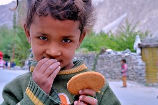 The Boy at the Indo-Pak Border (LoC)