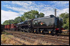 No 73156 (73069) 5th Aug 2018 Great Central Railway End of BR Steam Gala (Ian Sharman 1963) Tags: no 73156 73069 5th aug 2018 great central railway end br steam gala class 5mt 460 station engine rail railways train trains loco locomotive passenger rothley brook quorn woodhouse gcr heritage line
