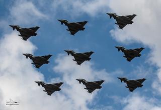 RAF Eurofighter Typhoon's