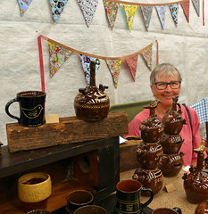 Gill Jones (Christine Cox @ potfest) Tags: potfest pens 2018 pottery ceramics markets cumbria uk festival cattle market