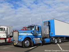 Mike McKay's 1973 Kenworth W900A with Mercury Sleeper (Michael Cereghino (Avsfan118)) Tags: 2016 aths american historical truck society show national convention kenworth kw w923 w900a w900 a model trucking mike mckay 1973 923 mercury sleeper