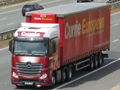 Currie European, Mercedes Actros New Livery (Gary Chatterton 4 million Views) Tags: currieeuropean mercedesactros mercedestrucks newlivery motorway trucking truck wagon lorry haulage transport hgv heavygoodsvehicle flickr explore canonpowershot photography