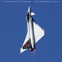6113 Typhoon (photozone72) Tags: fairford aviation airshows aircraft airshow canon canon7dmk2 canon100400f4556lii 7dmk2 typhoon eurofighter raftyphoondisplay