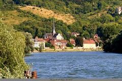 Les bords de Seine et le Petit Andely (Barnie76@ ,) Tags: laseine fleuve lepetitandelys beauvillage eure paysage aout