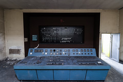 Controlroom (Hooismans) Tags: abandoned abandon abandonné abandonnée abbandonato abbandonata ancien ancienne alone architecture explorationurbaine exploration explore exploring empty explo explored distillery trespassing rust rusty ruins rotten urbex urban urbain urbaine urbanexploration interdit interior inside inexplore old past photography decay decaying derelict dust decayed dusty forgotten forbidden lost light nobody neglected building verlassen creepy huge industrial factory ceiling people arch road sign tree sky power plant powerplant 70kv belgium control room controlroom controlpanel verlaten verlatengebouw urbexbe