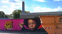 Mainz 2018.08.10. Mural 13.3 - Meeting of Styles 2018 - Wilhelm-Leuschner-School, Mainz-Kostheim (Rainer Pidun) Tags: mural streetart urbanart publicart publicschool mainzkostheim